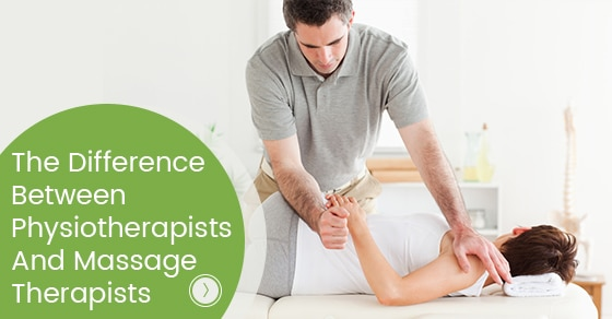 The Difference Between Physiotherapists And Massage Therapists